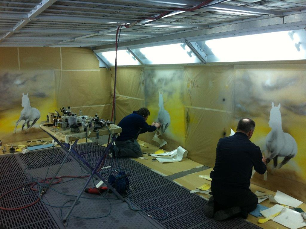 Three Day Mural Painting Class