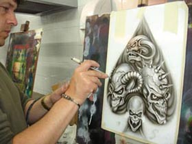 Airbrush Classes - Glasgow
